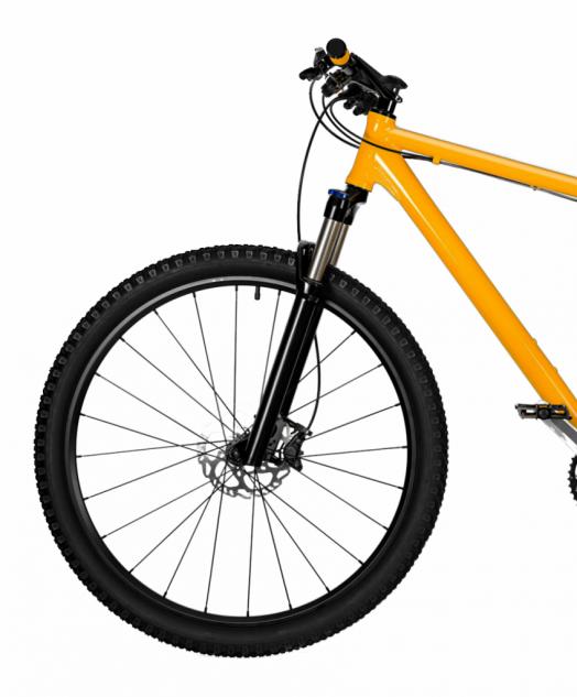 Pokrowiec rower czarno-żółty